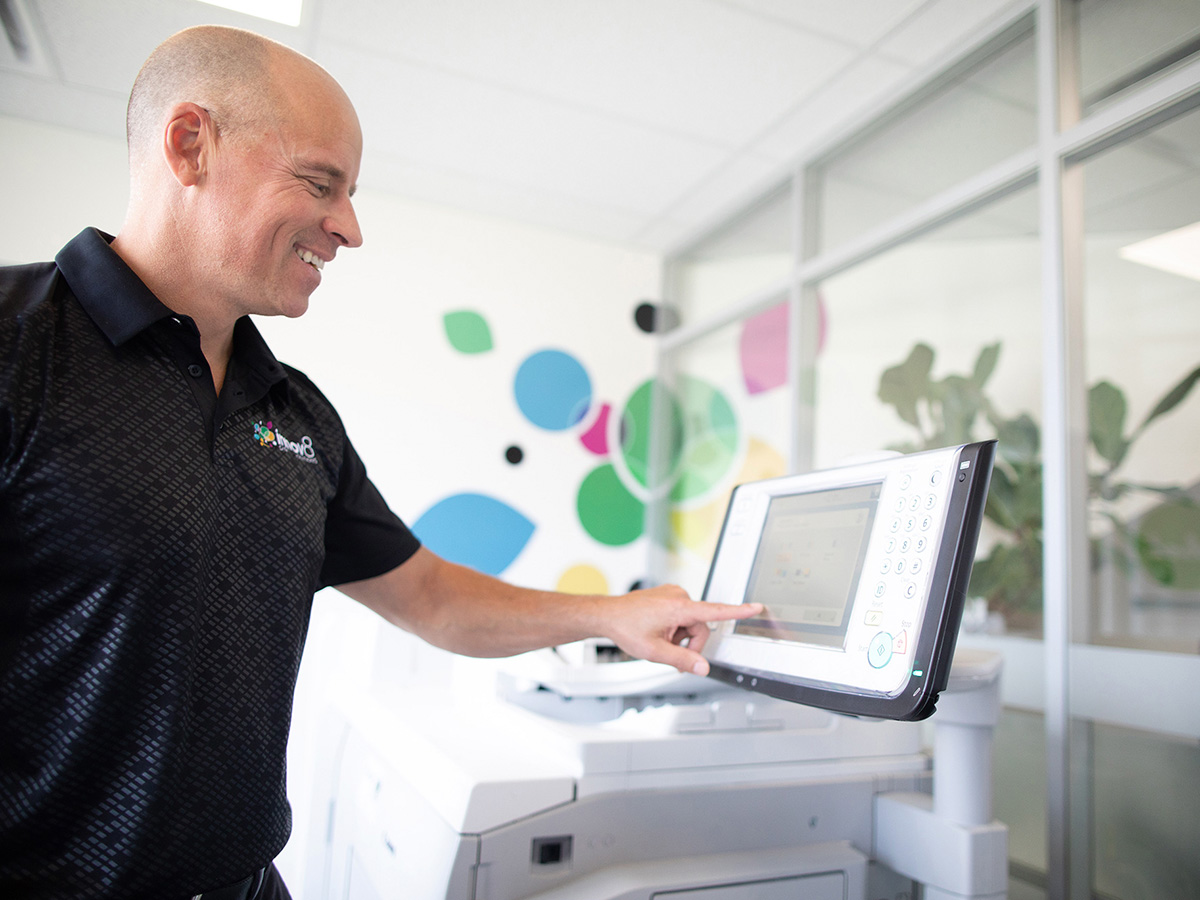 Innov8 offers trusted copiers and printers that don't jam.